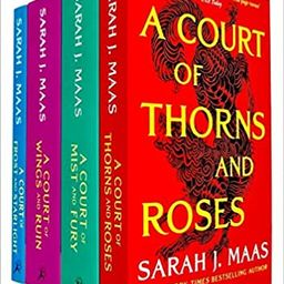 A Court of Thorns and Roses Series Sarah J. Maas 4 Books Collection Set (A Court of Thorns and Ro... | Amazon (US)