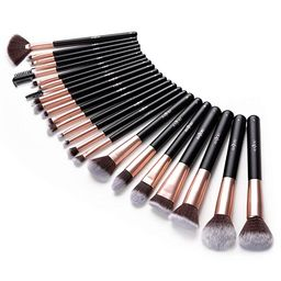Anjou Makeup Brush Set, 24pcs Premium Cosmetic Brushes for Foundation Blending Blush Concealer Ey...   Amazon (US)