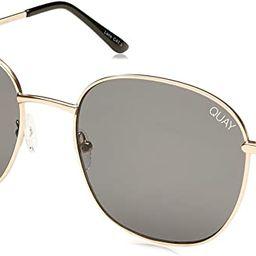 Quay Australia JEZABELL Women's Sunglasses Minimal Round Sunnies   Amazon (US)