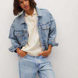 Pocketed denim jacket | MANGO (US)