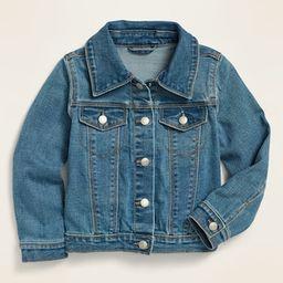 Unisex Medium-Wash Jean Trucker Jacket for Toddler   Old Navy (US)