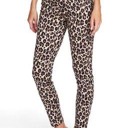 Vince CamutoLeopard Print Skinny Jeans | Nordstrom Rack