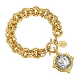 Italian Coin Bracelet | Susan Shaw
