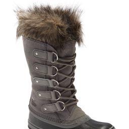 Women's Sorel Joan Of Arctic Faux Fur Waterproof Snow Boot, Size 9 M - Grey | Nordstrom