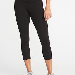 High-Waisted Elevate Crop Leggings For Women | Old Navy (US)