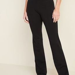 High-Waisted Slim Boot-Cut Yoga Pants For Women | Old Navy (US)