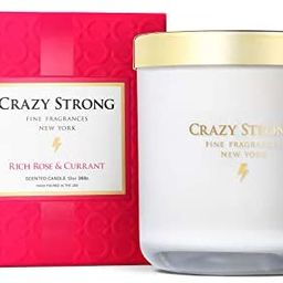 Crazy Strong Rich Rose & Currant 13 oz. 2-Wick Candle | Amazon (US)
