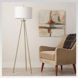 Ellis Tripod Floor Lamp Brass - Project 62™   Target