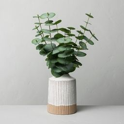 Faux Eucalyptus Arrangement - Hearth & Hand™ with Magnolia   Target