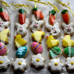 Easter Sugar Cookie Gift / Kids Easter / Easter Party Favors / Easter / mini cookies / Easter gif...   Etsy (US)