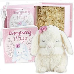 Everybunny Prays- Baby and Toddler Gift Set with Praying Musical Bunny and Prayer Book in Keepsak...   Amazon (US)