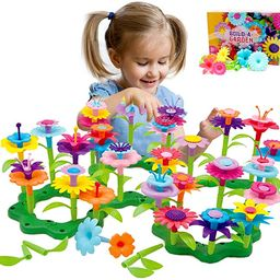 Byserten Gifts for 3-6 Year Old Girls Flower Garden Building Set 98 PCS Arts and Crafts for Girls...   Amazon (US)