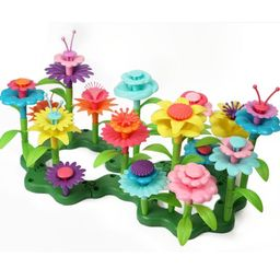 Flower Building Toy Set, Stacking For Toddlers, Colorful Garden Game for Kids Age 2, 3, 4, 5 Year...   Etsy (US)