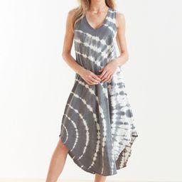Reverie Spiral Tie Dye Dress   Evereve