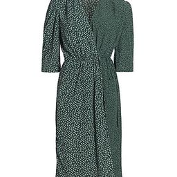 See by Chloé   Flowers & Dots Printed Wrap Dress    5 out of 5 Customer Rating   Saks Fifth Avenue