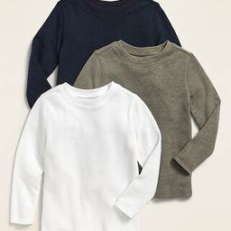 Unisex Long-Sleeve Thermal Tee 3-Pack for Toddler   Old Navy (US)