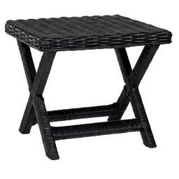 Wicker X Side Table - Safavieh   Target