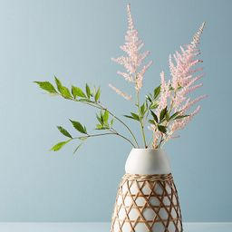 Woven Grass Vase | Anthropologie (US)