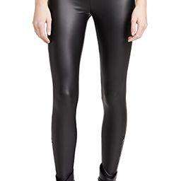 Signature Solid Faux Leather Leggings | Shopbop