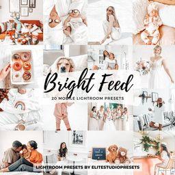 20 PACK Lightroom Mobile Desktop Presets Bright Feed Natural   Etsy   Etsy (US)