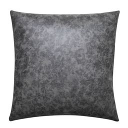 Better Homes & Gardens Pebble Faux Leather and Linen Blend Reversible, Decorative Throw Pillow, 2... | Walmart (US)
