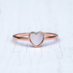 Heart of Pearl Ring - Pura Vida Bracelets   Pura Vida Bracelets