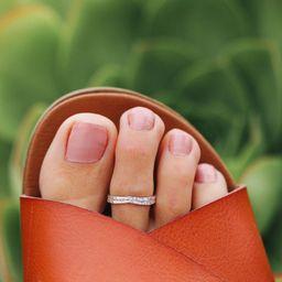 Chevron Toe Ring - Pura Vida Bracelets   Pura Vida Bracelets