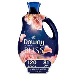 Downy Infusions Amber /Bliss Liquid Fabric Softener - 81oz | Target