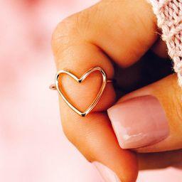 Statement Heart Ring - Pura Vida Bracelets   Pura Vida Bracelets