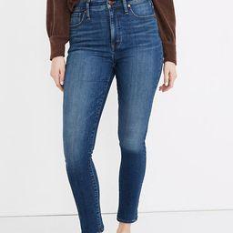 Curvy High-Rise Skinny Jeans in Bradshaw Wash   Madewell