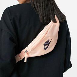 Nike Heritage waist pack in pale pink | ASOS (Global)