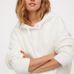 Fluffy-knit Hoodie | H&M (US)