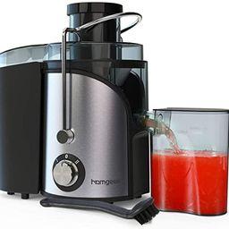 Juicer, Homgeek Vegetable Juicer Machines, Dual Speed Small Juicer 400W with Anti-drip Kit Design... | Amazon (US)