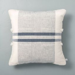 Tassel Center Band Stripes Throw Pillow - Hearth & Hand™ with Magnolia | Target