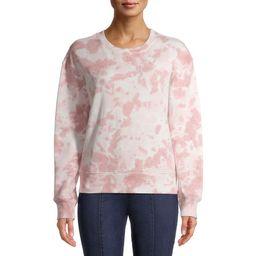 Time and Tru Women's Tie Dye Sweatshirt | Walmart (US)