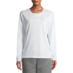 Time and Tru Women's Long Sleeve Oversized T-Shirt | Walmart (US)