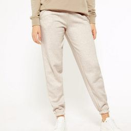 Cream Jersey Cuffed Joggers  Add to Saved Items Remove from Saved Items | New Look (UK)