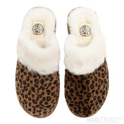 Leopard Slippers   Marleylilly