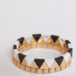 Reva Triangle Bracelets   Evereve