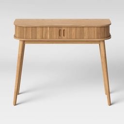 Adelpha Console Table with Sliding Doors Natural - Opalhouse™ | Target