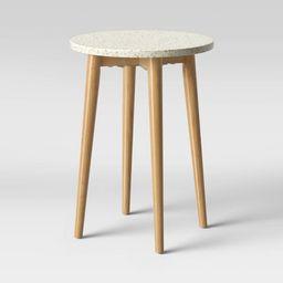 Arina Terrazo End Table White - Opalhouse™ | Target