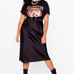 Just My Type Plus Satin Mini Skirt | NastyGal (US & CA)