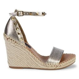 Kaye Faux-Leather Espadrilles | Saks Fifth Avenue OFF 5TH