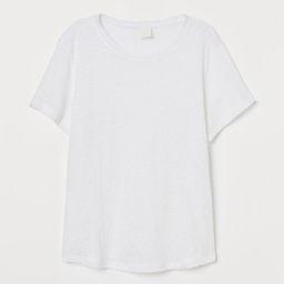 Linen T-shirt | H&M (US)