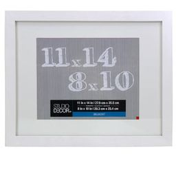 White Belmont Frame With Mat By Studio Décor® | Michaels Stores
