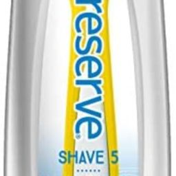 Preserve Shave 5 Five Blade Refillable Razor, Made from Recycled Materials, Sunshine Yellow | Amazon (US)