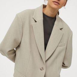 Oversized jacket   H&M (UK, IE, MY, IN, SG, PH, TW, HK, KR)