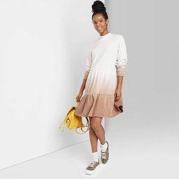 Women's Long Sleeve Sweatshirt Dress - Wild Fable™   Target