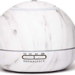 Hathaspace Marble Essential Oil Aroma Diffuser, 350ml Aromatherapy Fragrance Diffuser & Ultrasoni...   Amazon (US)