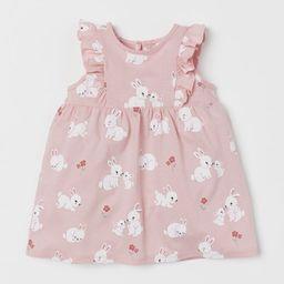Ruffle-trimmed Jersey Dress | H&M (US)